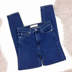 Gap True Skinny High Rise Waisted Jeans Blue